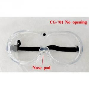 Safety goggles no opening CG-701
